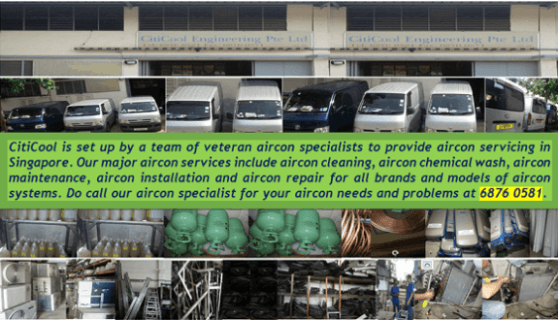 Aircon Servicing Singapore Workshop