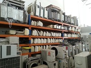 Second hand air conditioners in Citicool's Workshop