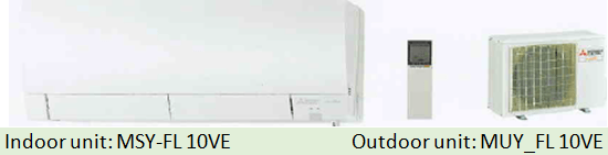 Mitsubishi single split inverter F series