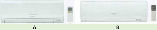 Mitsubishi single split inverter indoor unit