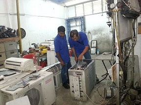aircon repair singapore workshop & repair technican