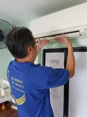 air conditioning service company DIY Step 2